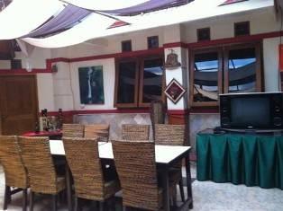 Bali Indah Hotel Bandung Balcony