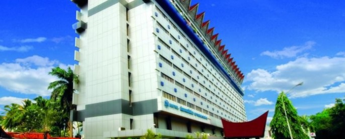 Danau Toba International Hotel Balcony