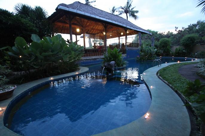 Sanur Seaview Hotel Balcony