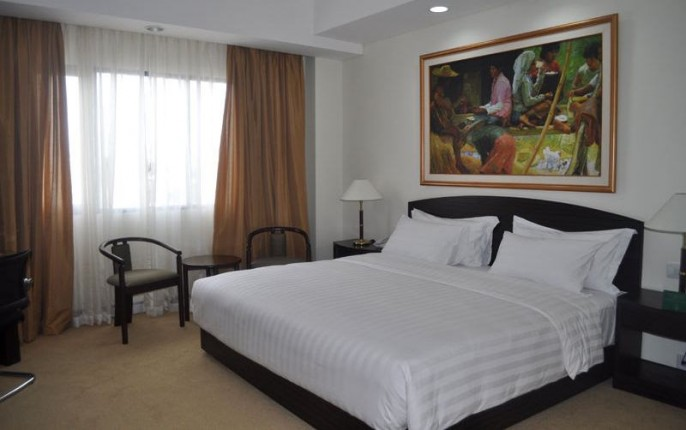 Sintesa Peninsula Hotel Palembang Guest Room