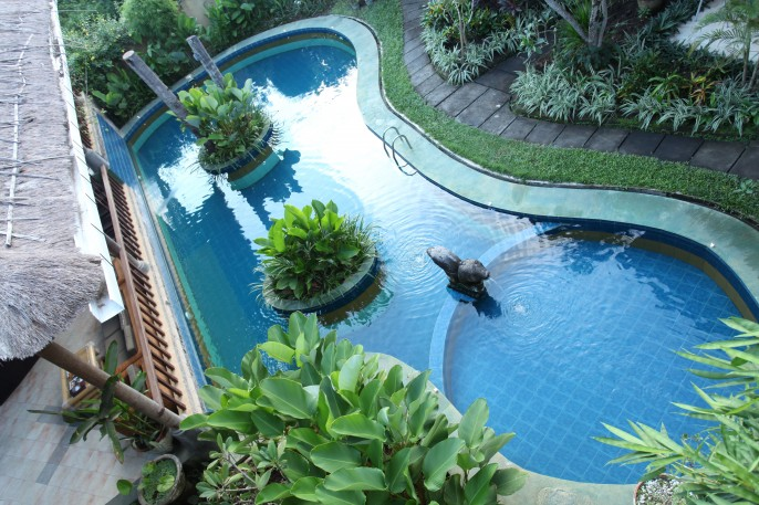 Sanur Seaview Hotel Swimming Pool