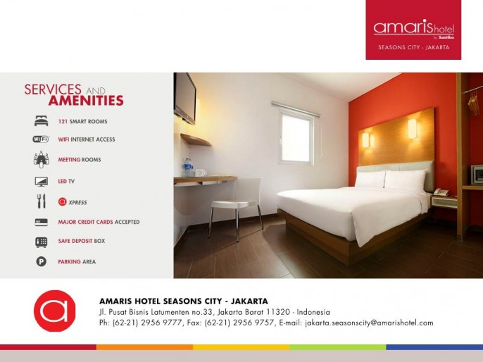 Amaris Hotel Seasons City Guest Room
