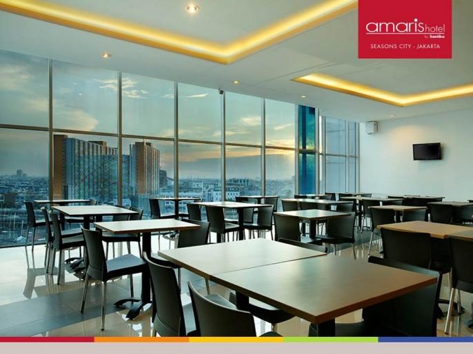 Amaris Hotel Seasons City Balcony