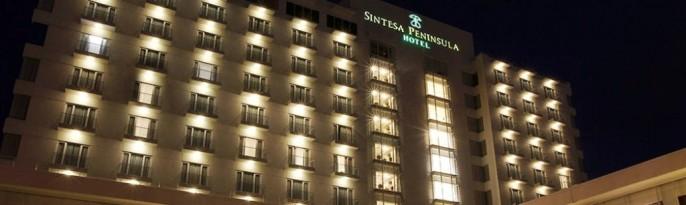 Sintesa Peninsula Hotel Palembang Exterior