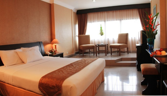 Danau Toba International Hotel Guest Room